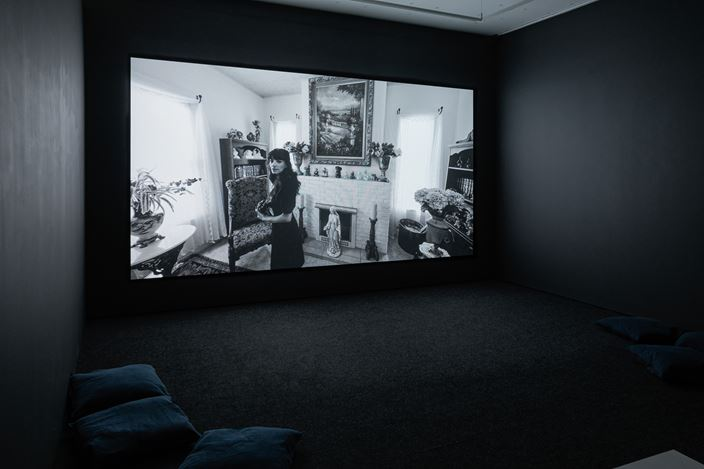 Shirin Neshat, Land of Dreams (2019). Exhibition view: Shirin Neshat, Land of Dreams, Goodman Gallery, London (20 February–28 March 2020). Courtesy Goodman Gallery.