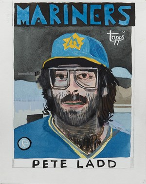 Pete Ladd by Jonas Wood contemporary artwork
