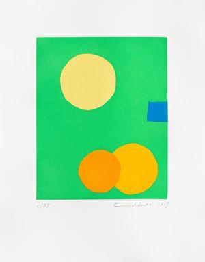 Poids de la lune III by Etel Adnan contemporary artwork