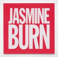 JASMINE BURN by John Giorno contemporary artwork painting