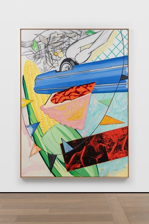 Mid-Summer by David Salle contemporary artwork