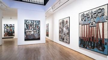 Contemporary art exhibition, Omar Ba, Autopsie de nos consciences at Templon, 28 Grenier Saint-Lazare, Paris