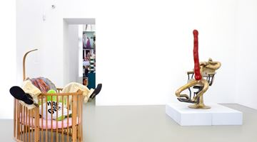 Contemporary art exhibition, Curated by Kris Lemsalu and Sarah Lucas, SEÑORA! at MEYER KAINER, Vienna