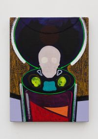 Open a can of skull by Gao Ludi contemporary artwork painting