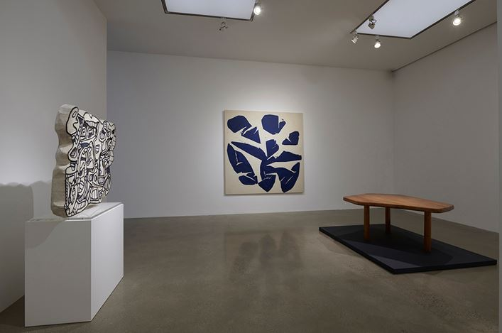 Exhibition view: Group exhibition, Freeform,Timothy Taylor, London (2 February–29 March 2018). Courtesy Timothy Taylor, London/New York. Photo:Sylvain Deleu.