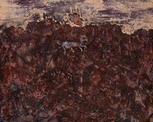 Paysage au chien bleu by Jean Dubuffet contemporary artwork