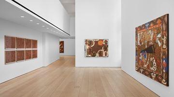 Contemporary art exhibition, Lari Pittman, Found Buried at Lehmann Maupin, 501 West 24th Street, New York