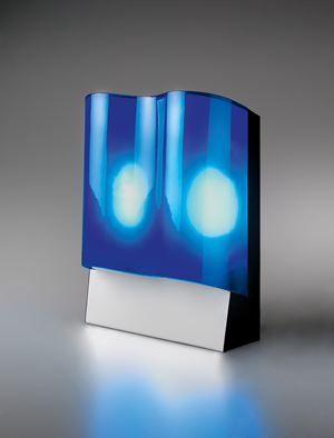 Black Sea Lamp, 2011 (For Parkett 88) by Andro Wekua contemporary artwork
