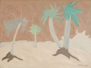 Palms by Milton Avery contemporary artwork