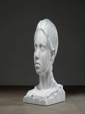 Martina's world by Jaume Plensa contemporary artwork