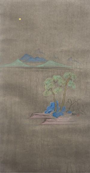 Moonlit Pines by Cheng Tsai-Tung contemporary artwork