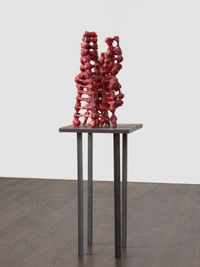 untitled: redfleshtowers; 2020 lockdown 7 by Phyllida Barlow contemporary artwork sculpture