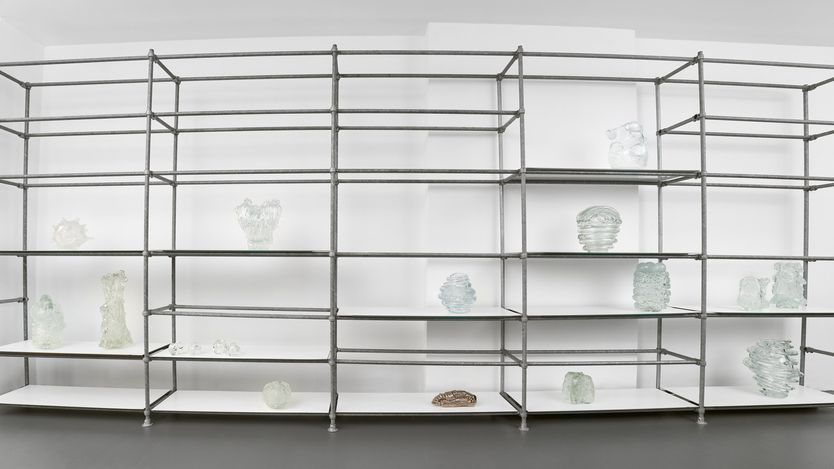 Exhibition view: Group Exhibition,Contemporary crafts, Brutto Gusto, Berlin (1 May–29 August 2021). Courtesy Brutto Gusto.
