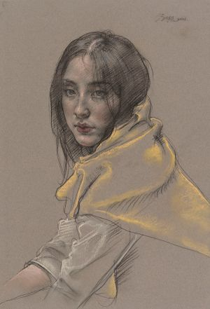 Miss Zheng by Pang Maokun contemporary artwork