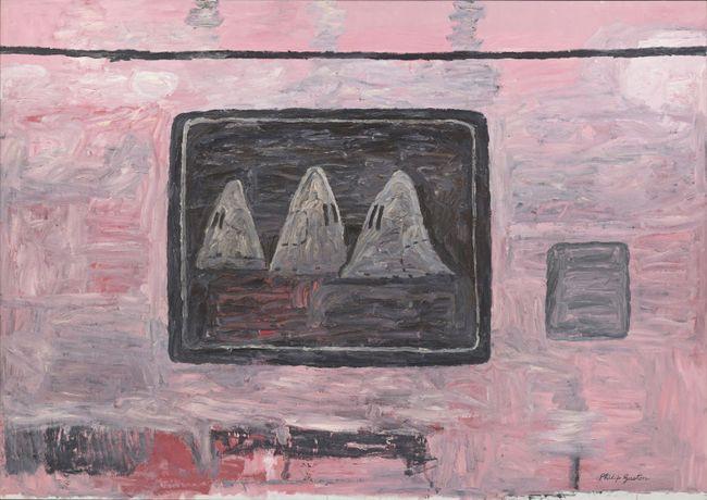 Blackboard by Philip Guston contemporary artwork