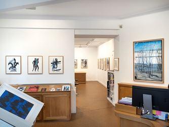 Exhibition view: Marc Desgrandchamps, Latona,Galerie Lelong & Co., Paris (22 November 2018–19 January 2019). Courtesy Galerie Lelong & Co., Paris.
