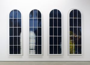 Church Windows - Ward, SC by Frank Poor contemporary artwork