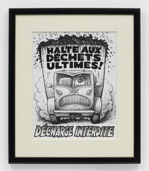 Halt the Dechets Ultimes by R. Crumb contemporary artwork