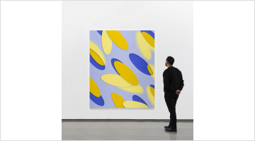 Contemporary art exhibition, Lesley Vance, A Zebra Races Counterclockwise at David Kordansky Gallery, Los Angeles