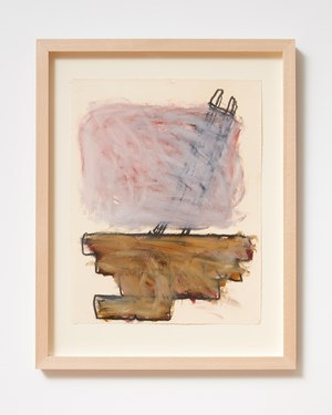 Ladder and Step Series #24 by Basil Beattie contemporary artwork