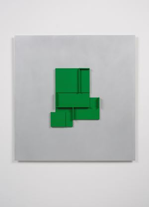 Green Maquette by Toby Paterson contemporary artwork