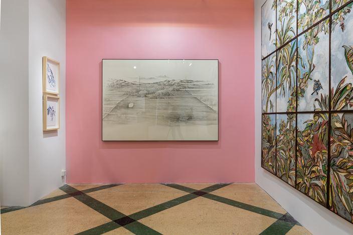 Exhibition view:ART021 Shanghai Contemporary Art Fair, Shanghai (7–10 November 2019). Courtesy Galerie Dumonteil.