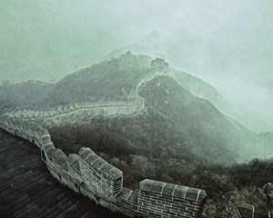 Chinese Wall, China by Jimmy Nelson contemporary artwork