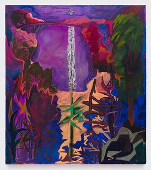 Your Hidden Thorns by Shara Hughes contemporary artwork