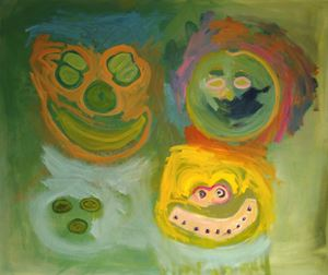 Glazed Bunch by Layla Rudneva-Mackay contemporary artwork