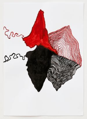 O. T by Leunora Salihu contemporary artwork