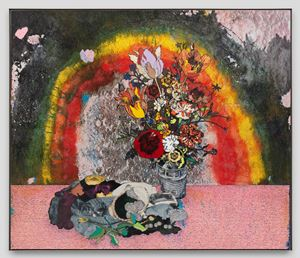 Bouquet and Picnic (Bull Run) [B63] by Matthew Day Jackson contemporary artwork