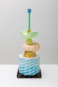 Lettuce Entertain You (Franny) by Bethan Laura Wood contemporary artwork sculpture