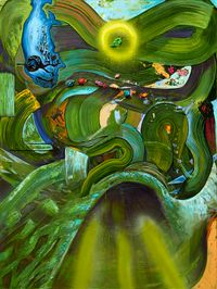 NOTES ON SEDUCTION (for Arshile) by Jin Meyerson contemporary artwork painting