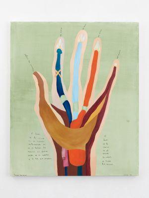 Thenar Eminence by Cecilia Vicuña contemporary artwork