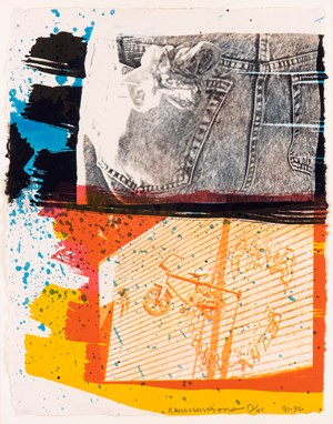Fest by Robert Rauschenberg contemporary artwork