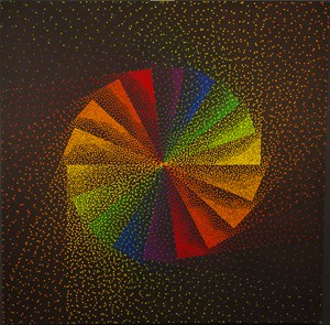 Alchimie 350 by Julio Le Parc contemporary artwork