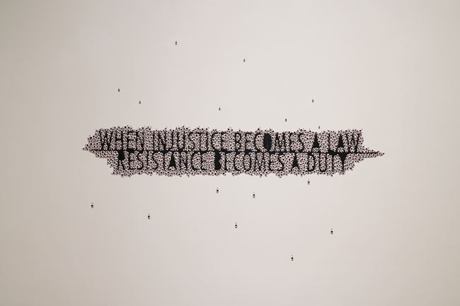 Resistance by Anita Dube contemporary artwork