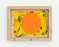Sat G (circle) by Alvaro Barrington contemporary artwork painting, works on paper