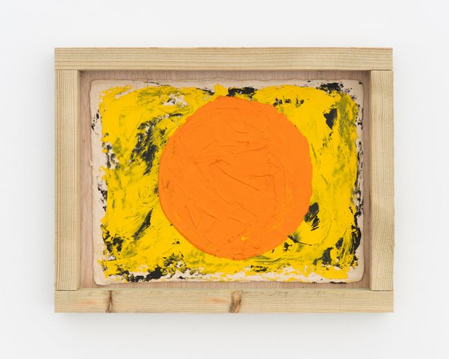 Sat G (circle) by Alvaro Barrington contemporary artwork