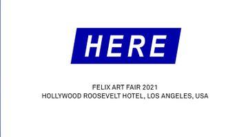 Contemporary art art fair, Felix Art Fair at Gagosian, 980 Madison Avenue, New York, USA