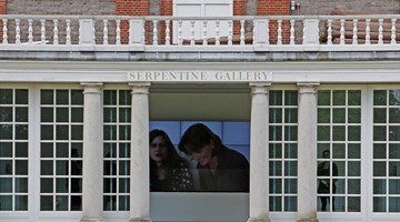 Serpentine Gallery contemporary art institution in London, United Kingdom