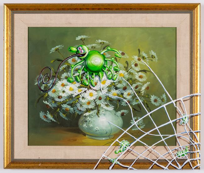 World Wide Web by Kenny Scharf contemporary artwork