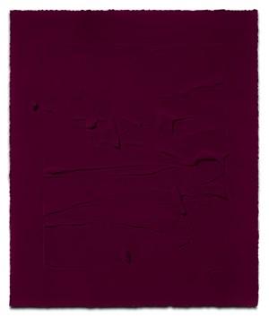 Pure magenta I by Jason Martin contemporary artwork