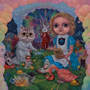Alice Dreaming in The Clouds by Chia-Ying Chang contemporary artwork