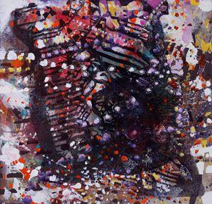 Scarred Portrait 3 by Jackie Saccoccio contemporary artwork