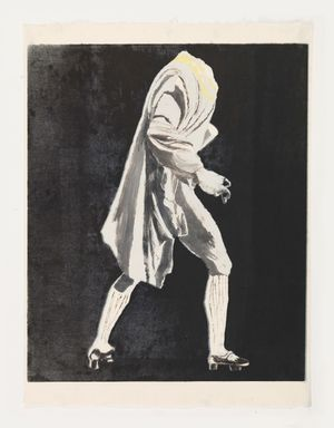 Headless Man in Jacket by Mamma Andersson contemporary artwork