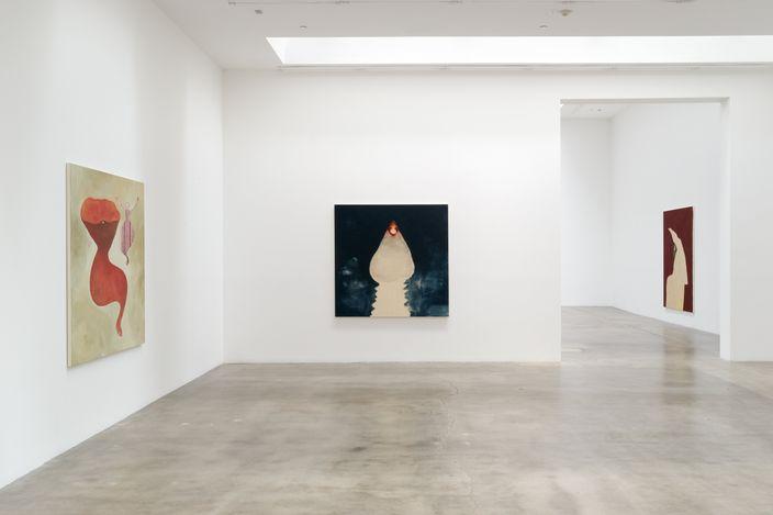 Exhibition view: Tomoo Gokita,FRESH,Blum & Poe, Los Angeles (15 May–26 June 2021). © Tomoo Gokita, Courtesy the artist, Blum & Poe, Los Angeles/New York/Tokyo. Photo: Heather Rasmussen.