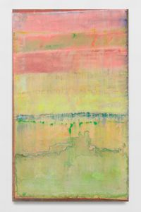 Penumbral Lite by Frank Bowling contemporary artwork painting
