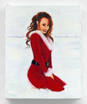 Merry Christmas, Mariah Carey by Sam McKinniss contemporary artwork