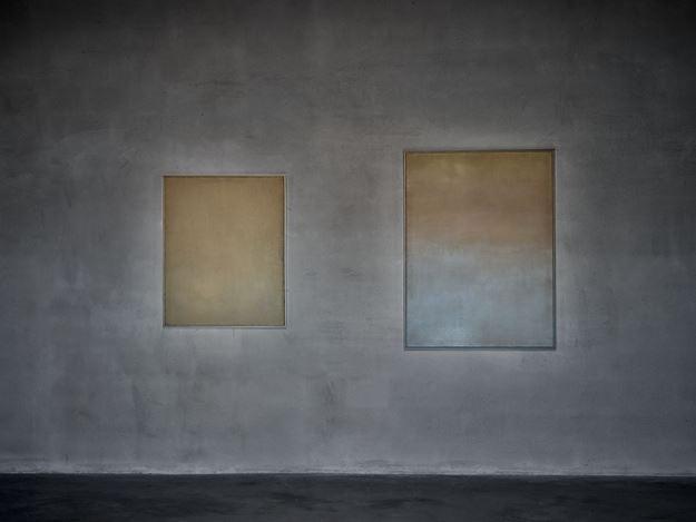 Exhibition view: Jef Verheyen, Jef Verheyen 1955–1962, Axel Vervoordt Gallery, Antwerp (27 February–1 May 2021). CourtesyAxel Vervoordt Gallery.